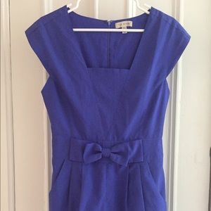 Ted Baker Romper With Bow and Pockets